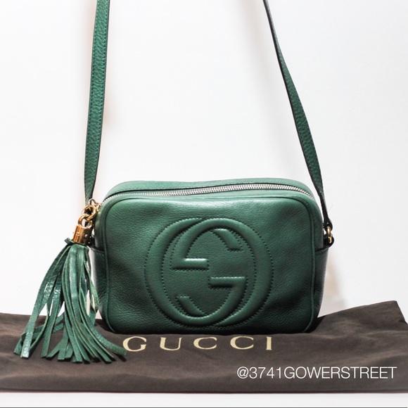 7d12f6e6bb6 Gucci Handbags - Gucci Small Soho Disco Bag