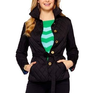 Lilly Pulitzer Destination Quilted Coat