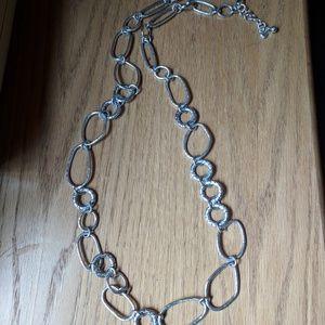 Brighton Silver Chain Necklace