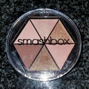 Smashbox cosmetics 6 brown/gold shadows