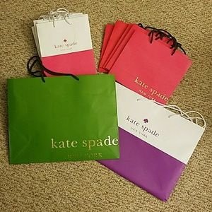 Custom bundle! 2 pink bags/tissue paper