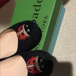 Kate spade New York Wendy Ladybug Ballet Flats