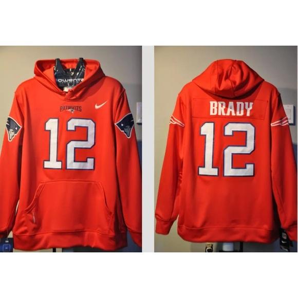 premium selection a20b1 2ccb6 Tom Brady Patriots Jersey hoodie Limited edition NWT