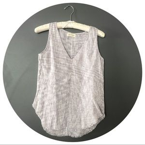 Cloth & stone Anthropologie linen tank