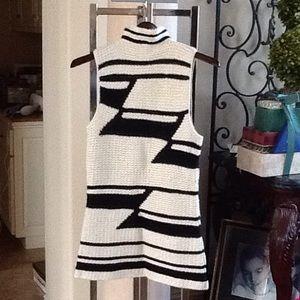 Knit Cowl Neck Tunic