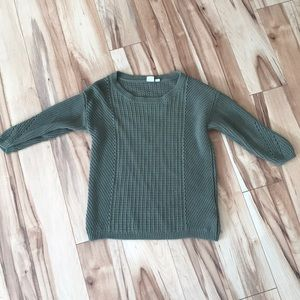 Olive green sweater
