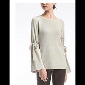 Banana Republic Fluted sleeve sweater