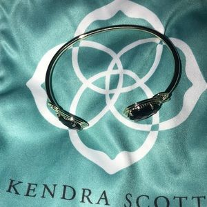 Kendra Scott Black Andy  Bracelet