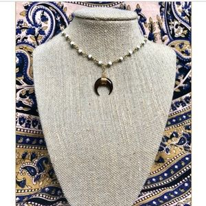 """Raw and Rebellious """"Goodnight Summer"""" necklace"""