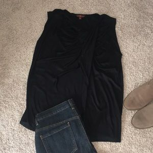 Cute 7 for all mankind black top