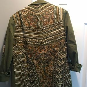 NWT panther style jacket