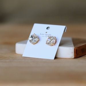 Kate Spade Large Gold Gumdrop Earrings