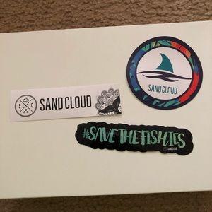 Sandcloud stickers
