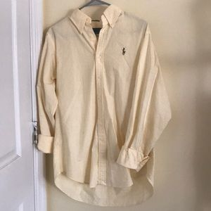Size 12 classic fit Ralph Lauren oxford polo!