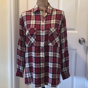 Gap plaid shirt Excellent condition