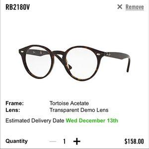 Ray-Ban Unisex Optical Frames RB 2180V Tortoise
