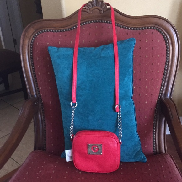 810c155904fb Authentic G by Guess brand new red bag