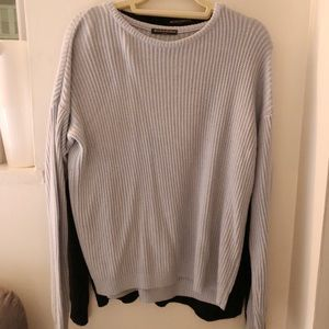 BABY BLUE BRANDY MELVILLE SWEATER - DISCONTINUED
