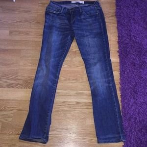 Abercrombie and Fitch skinny blue denim jeans
