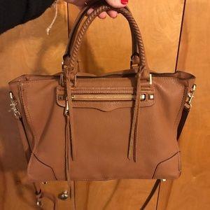 Rebecca Minkoff 'Regan' Brown Leather Satchel