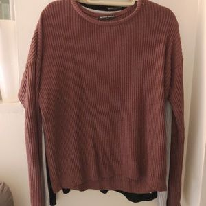 MAROON BRANDY MELVILLE SWEATER - DISCONTINUED