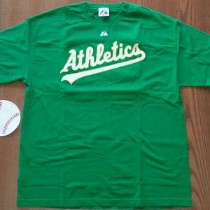 Oakland A's Tee Shirt XL