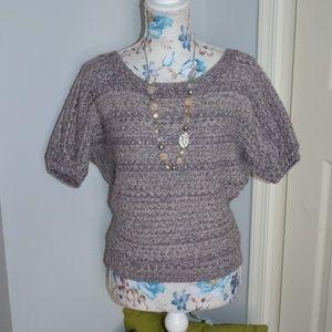 Beautiful short sleeve sweater