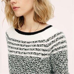 Lou & Grey Fair Isle Knot Sweater EUC
