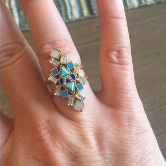 Stella & Dot Jewelry - Stella and Dot Stone Tile Ring