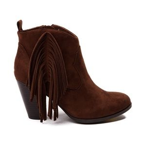 Madden Girl Tassel Booties