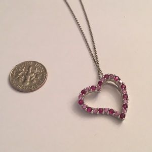 Jewelry - Ruby and pink sapphire necklace