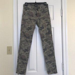 Hudson Jeans Camo Print Skinny