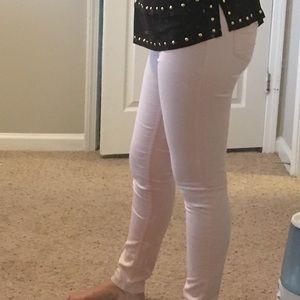 H&M Pink Elastic waist stretchy pants