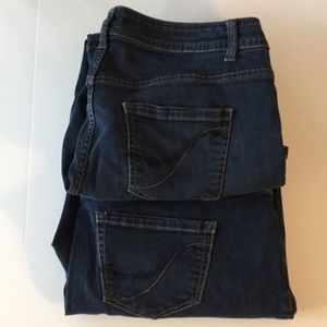 Two pairs Lane Bryant Bootcut Genius Fit Jeans 18