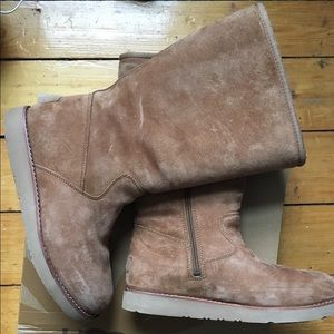 Ugg Sunset III Boot Chestnut size 8