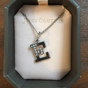 Juicy Couture E Necklace