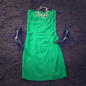 Express green dress.