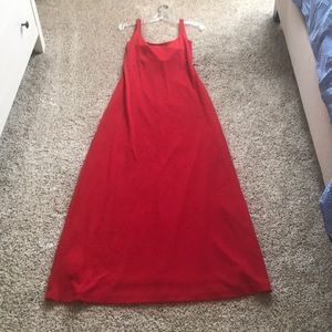 NWT Long red Cache dress