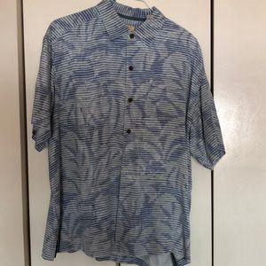 Tommy Bahama men's short sleeve shirt