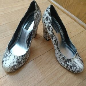 Authentic Snakeskin Vince Camuto Heels