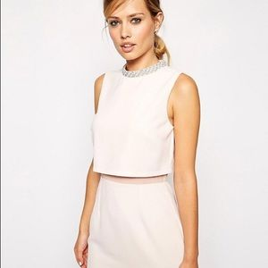 ASOS Blush Midi Sheath Dress 💕