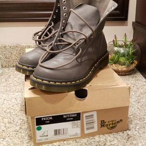 Dr. Martens PASCAL Lead colored boots size 8US