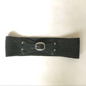 Banana Republic Black Woven Belt