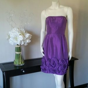 Max and Cleo strapless dress Sz4