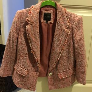 The Limited- light colored blazer