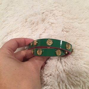 Tory Burch wrap -green and pink