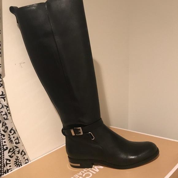 Michael Kors Arley Riding Flat Boots
