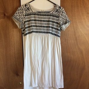 Anthropologie HD in Paris embroidered dress size S
