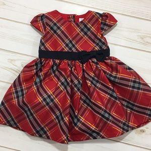 NWT Carter's formal plaid dress
