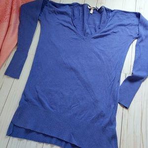 Victoria's Secret purple knit top extra small